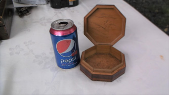 Small Octagonal Inlaid Box