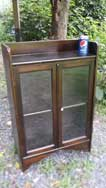 Small Glass Bookcase