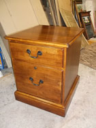 2 Drawer Cherry file cabinet