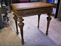 Victorian Side-Writing Table