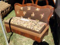 Empire Period Loveseat