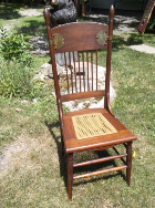 Arts and Crafts Oak Side Chair