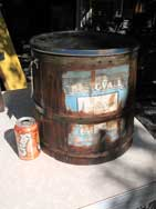 "Large ""BEST OF ALL"" Bucket with Lid & Label"