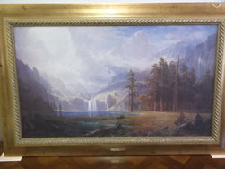 "Albert Bierstadt Framed Print   ""MT. WHITNEY"""
