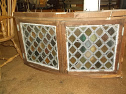 Pair A & C Era Leaded and Stained Glass Windows