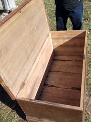 Large Grain Painted Box