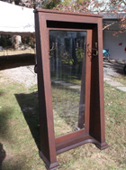 Mission Oak Standing Mirror
