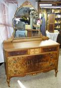 Antique furniture repair - deco dresser