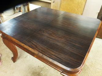 Rosewood Mid 19th Century Extension Table repaired and refinished