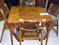 Bamboo Table & Chair set