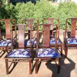Set of SIX Chinese Dining Room Chairs